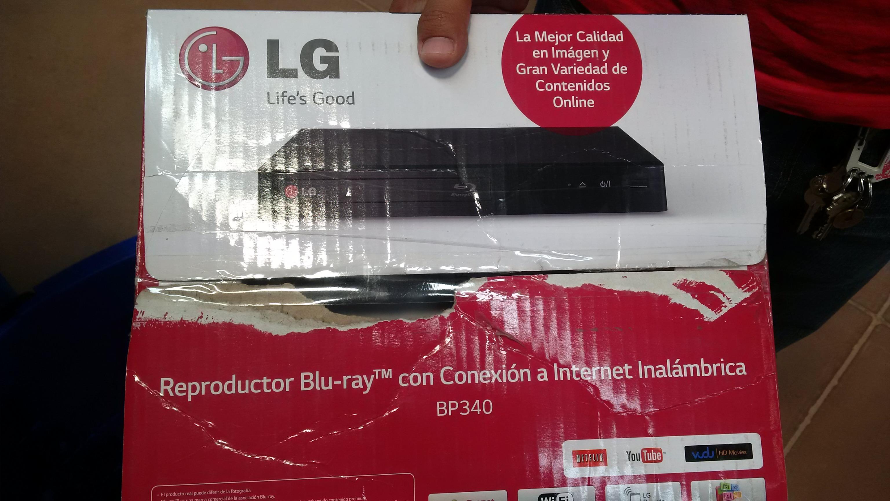 Walmart: Bluray LG 139.04