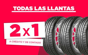 Famsa Online Llantas (todas) con 50% de descuento.