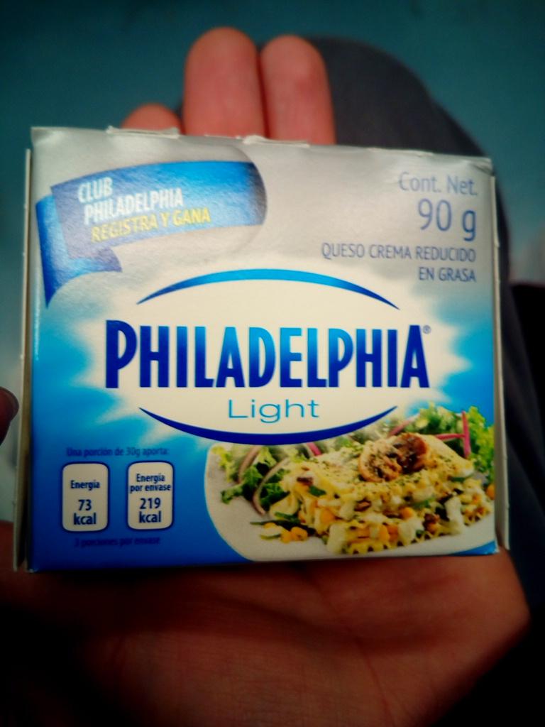 La comer. Queso Philadelphia light de 90g