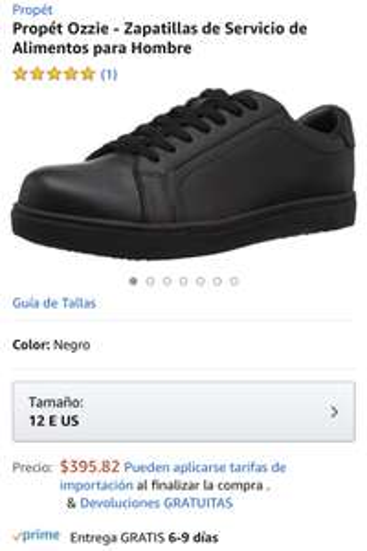 Cuero Zapatos Propét Marca 10 Amazon De Mexicano Talla 8FwqABHx