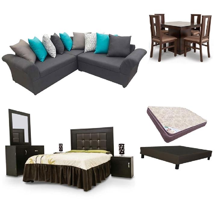 Famsa: Paquete de muebles por 15000