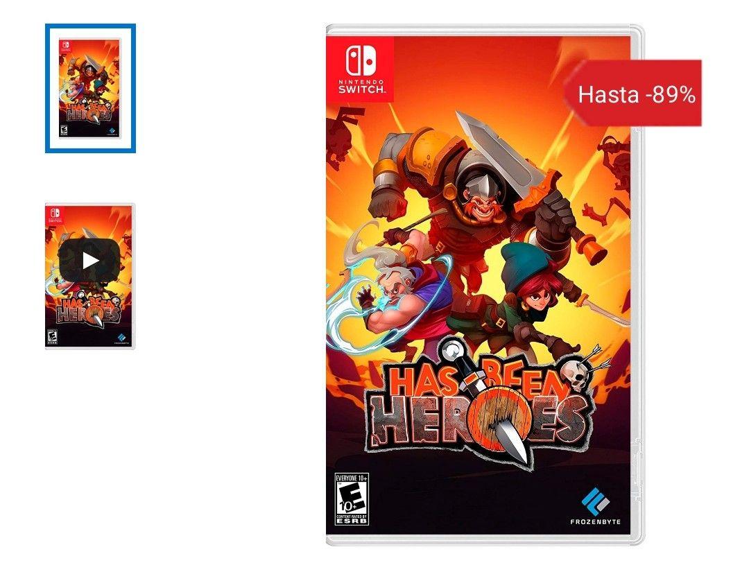 Has Been Heroes - Nintendo Switch