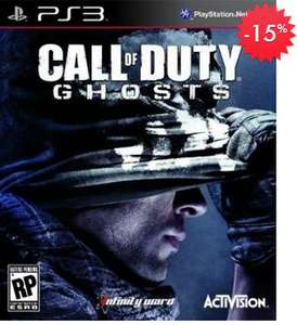 Linio: Call of Duty Ghosts o Assassin's Creed 4 $764