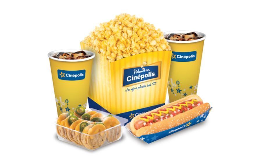 El Buen Fin 2018 Groupon: Combo mediano de dulcería a elegir en Cinepolis (Válido para todas las sucursales)