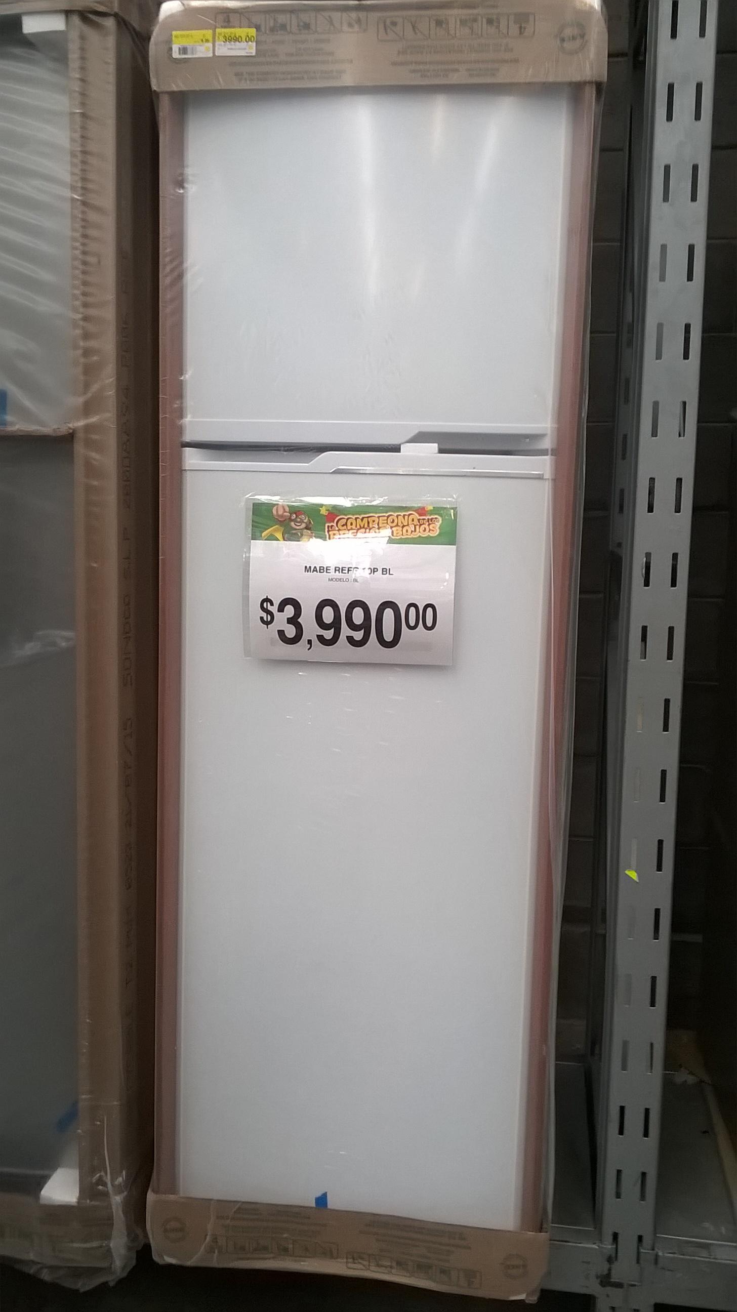 Bodega Aurrerá: Refrigerador Mabe 10 pies a $3990