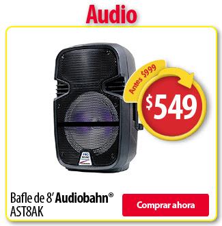 Buen Fin Walmart: bafle 8' con bluetooth de $999 a $599