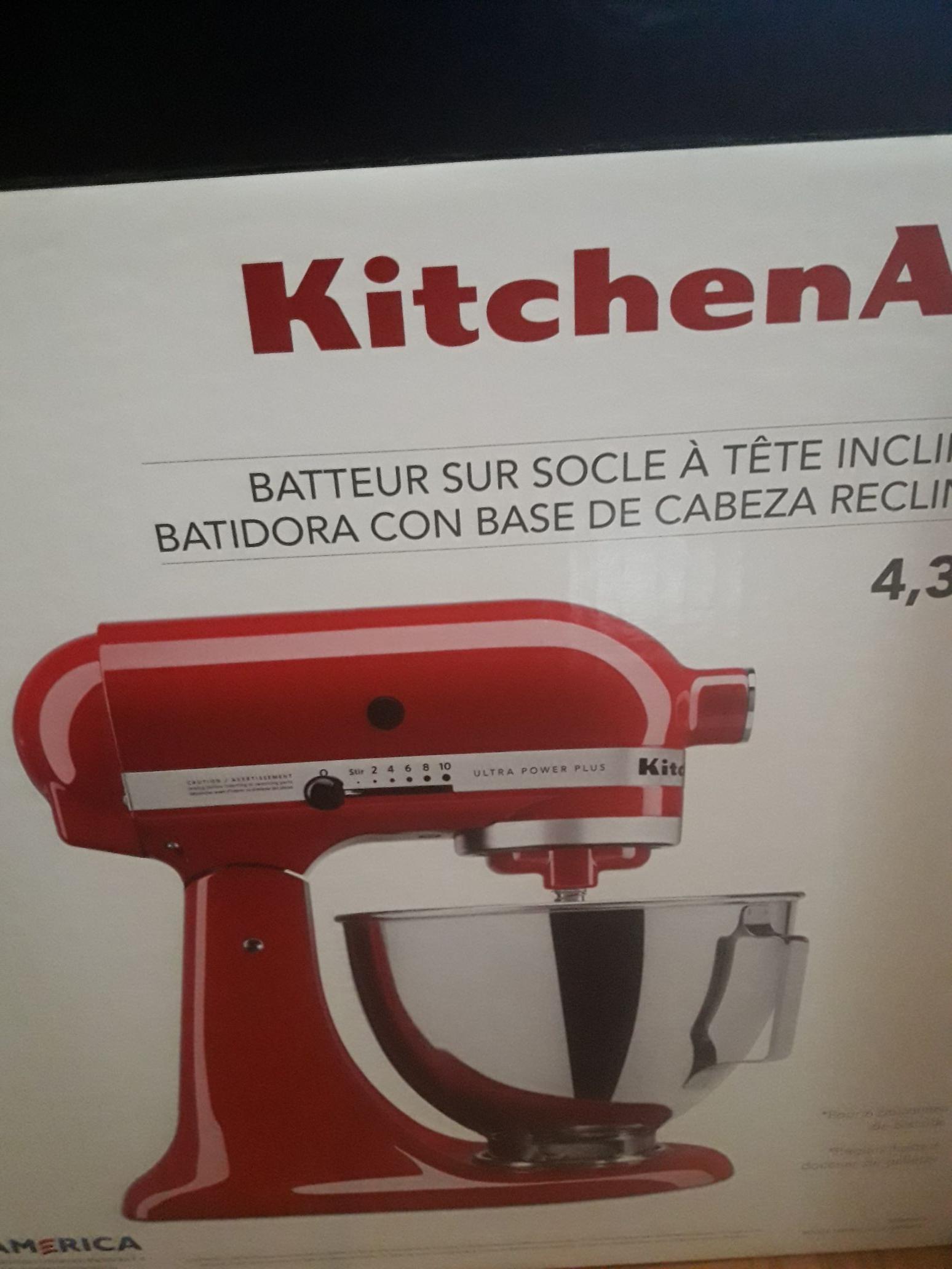 Sears: Batidora kitchen aid. Con el 40% descuento (más el 10 con el revolvente)