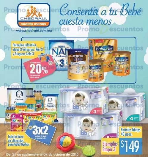 Chedraui: ofertas especiales en artículos para bebés