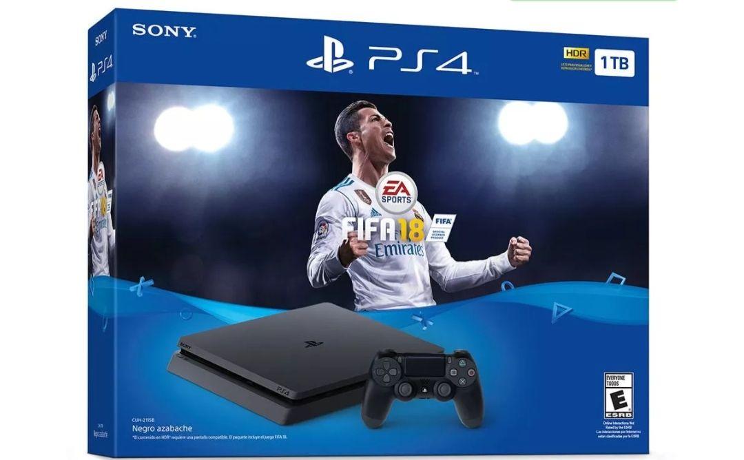 Elektra: PS4 slim 1TB fifa 18 (pagando con banamex)