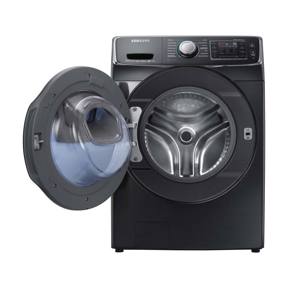 Buen Fin 2018 en Sam's Club: lavadora carga frontal de 22 kg Samsung (Pagando a MSI con Bancomer)