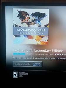 PlayStation Store: Overwatch Legendary Edition PS4