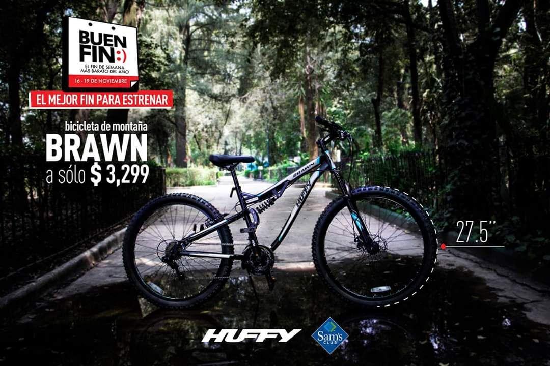 """Buen Fin en Sam's Club: Bicicleta Huffy Brawn Montaña Rodada 27.5"""""""