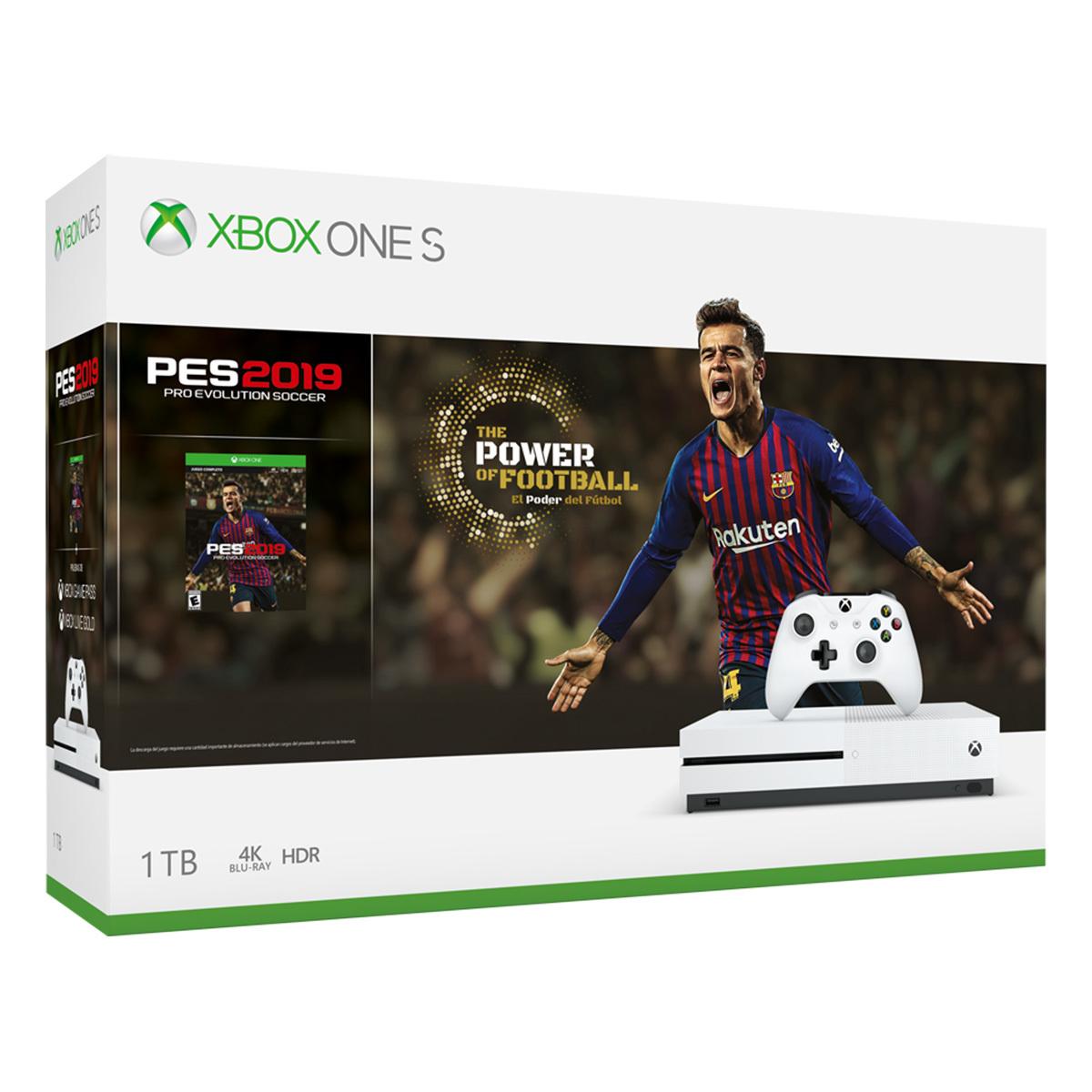 Costco: PayPal + Banamex Xbox One S 1TB (3 modelos)