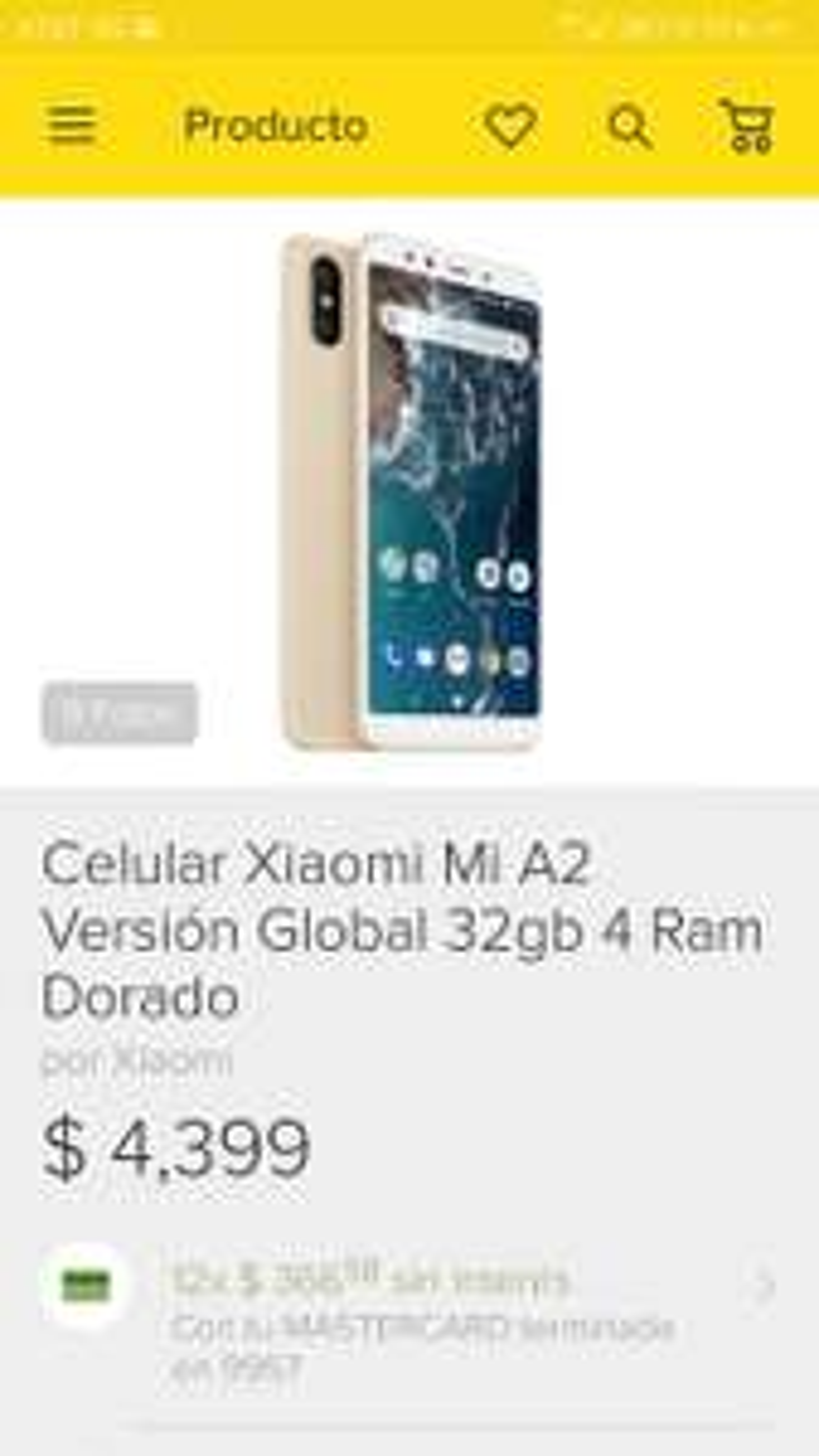 Tienda Oficial Xiaomi en Mercadolibre: Xiaomi a2