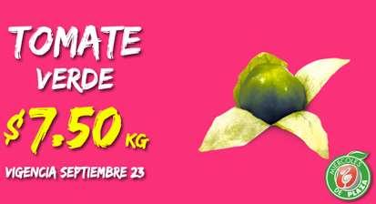 Miércoles de Plaza en La Comer septiembre 23: tomate verde $7.50 y más
