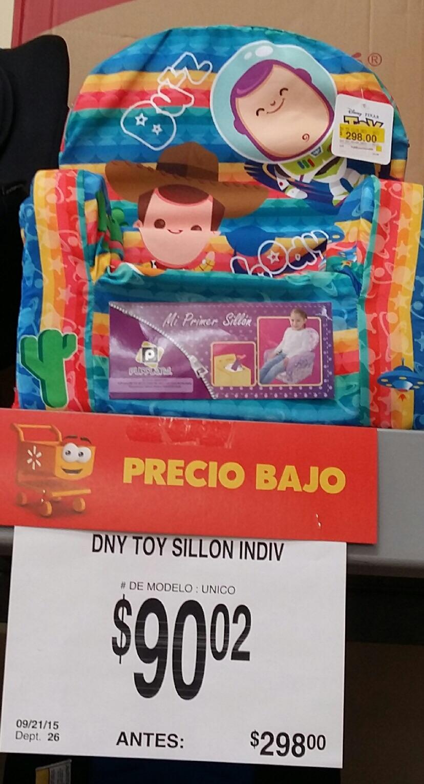 """Walmart: sillón individual de """"Toy story"""" de $298 a $90.02 y funda para tablet hasta 10"""" en $60"""