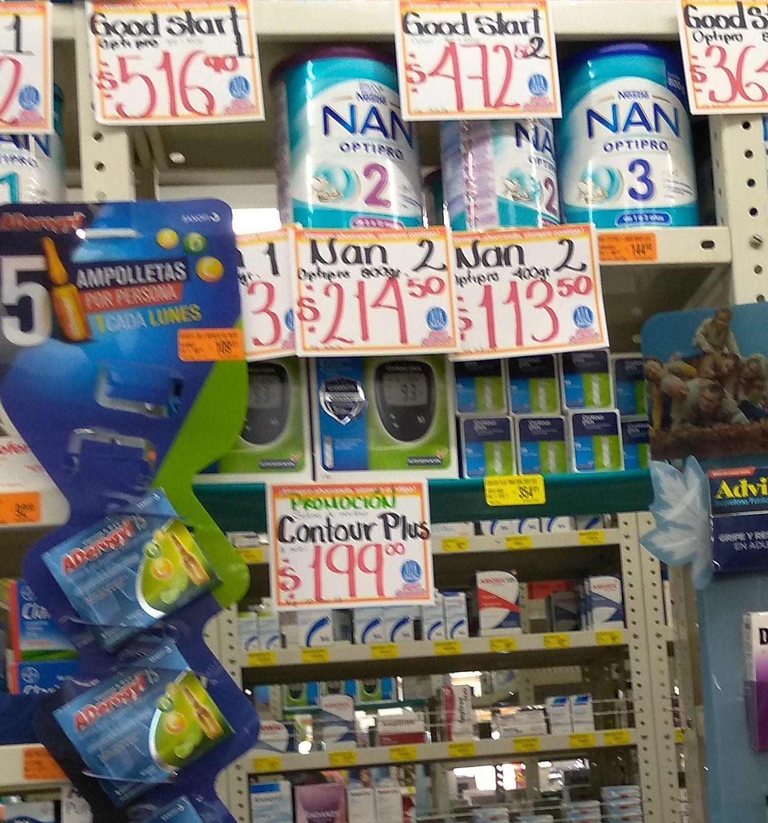 Farmacias Guadalajara: Glucómetro contour plus