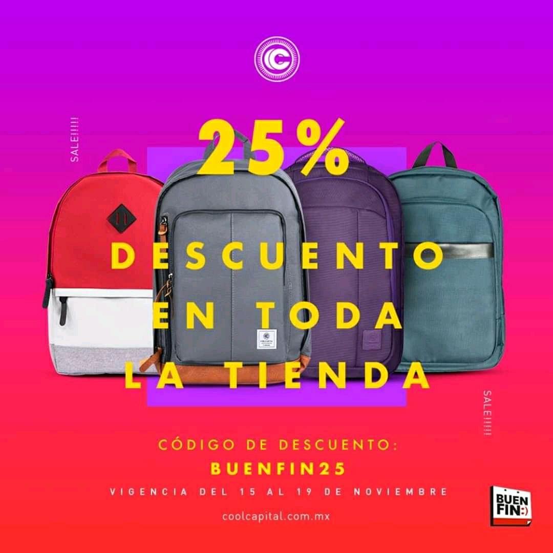Cool Capital: cupón de 25% de descuento
