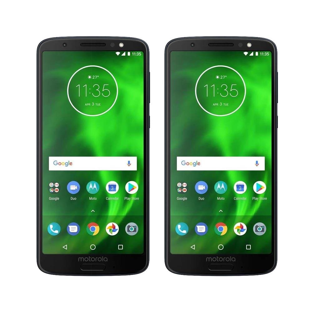 Buen Fin Walmart: 2 Motorola G6 Play pagando con bancomer cada uno $2,812 con cupón