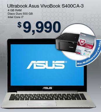 Walmart: Ultrabook con Intel Core i7, pantalla touch, multifuncional y McAfee $9,990