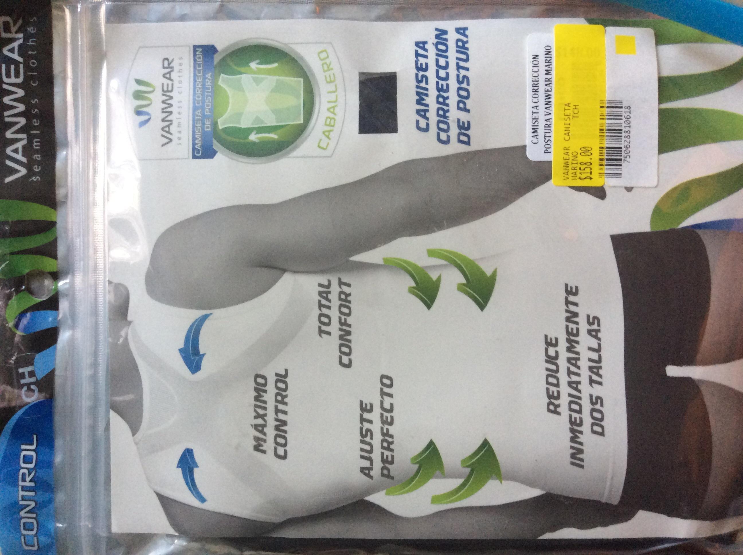 Walmart: Corrector de postura para caballero $158