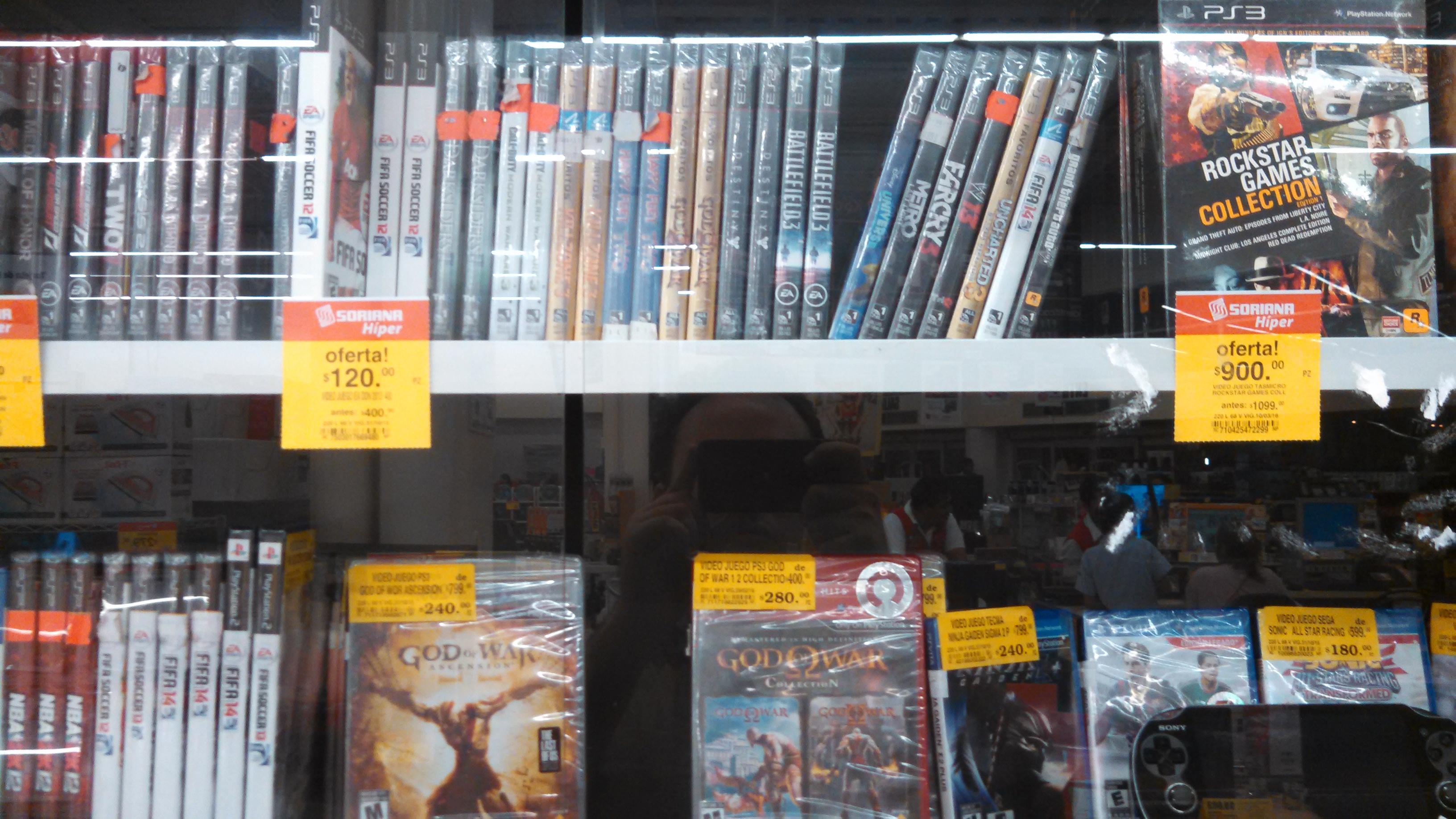 Ofertas videojuegos Soriana Hiper + cupon Xbox 360 4GB y kinect a $3999