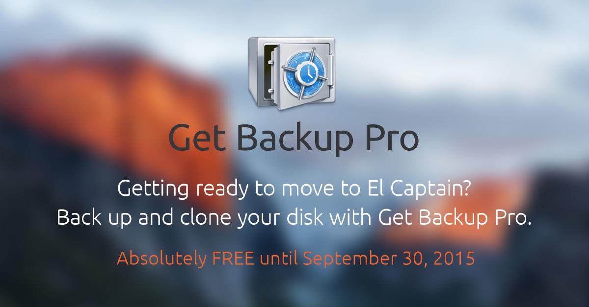 BackUp Pro Gratis para tu Mac