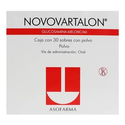 Farmacias del Ahorro: Novovartalon 3x2 = $703 c/u