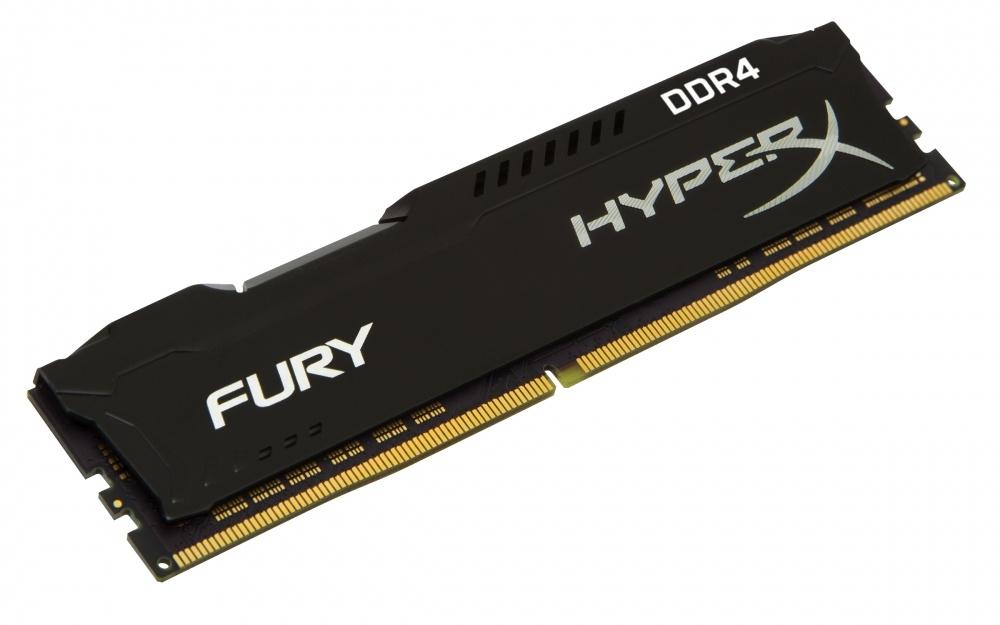 Cyberpuerta: Memoria RAM Kingston HyperX FURY Black DDR4, 2400MHz, 8GB, CL15 | Envio Gratis