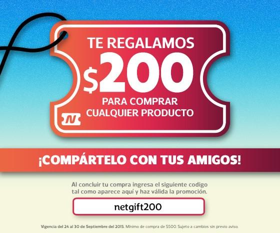 Netshoes: cupón $200 de descuento (Compra mínima $500)