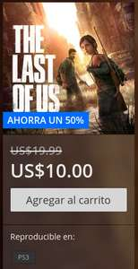 PlayStation Store: The Last Of Us Digital para Ps3 a $10 usd