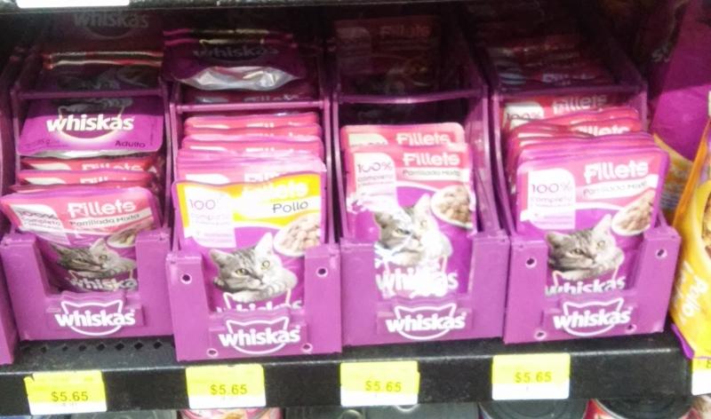 Walmart: Sobres whiskas varios sabores $5.65
