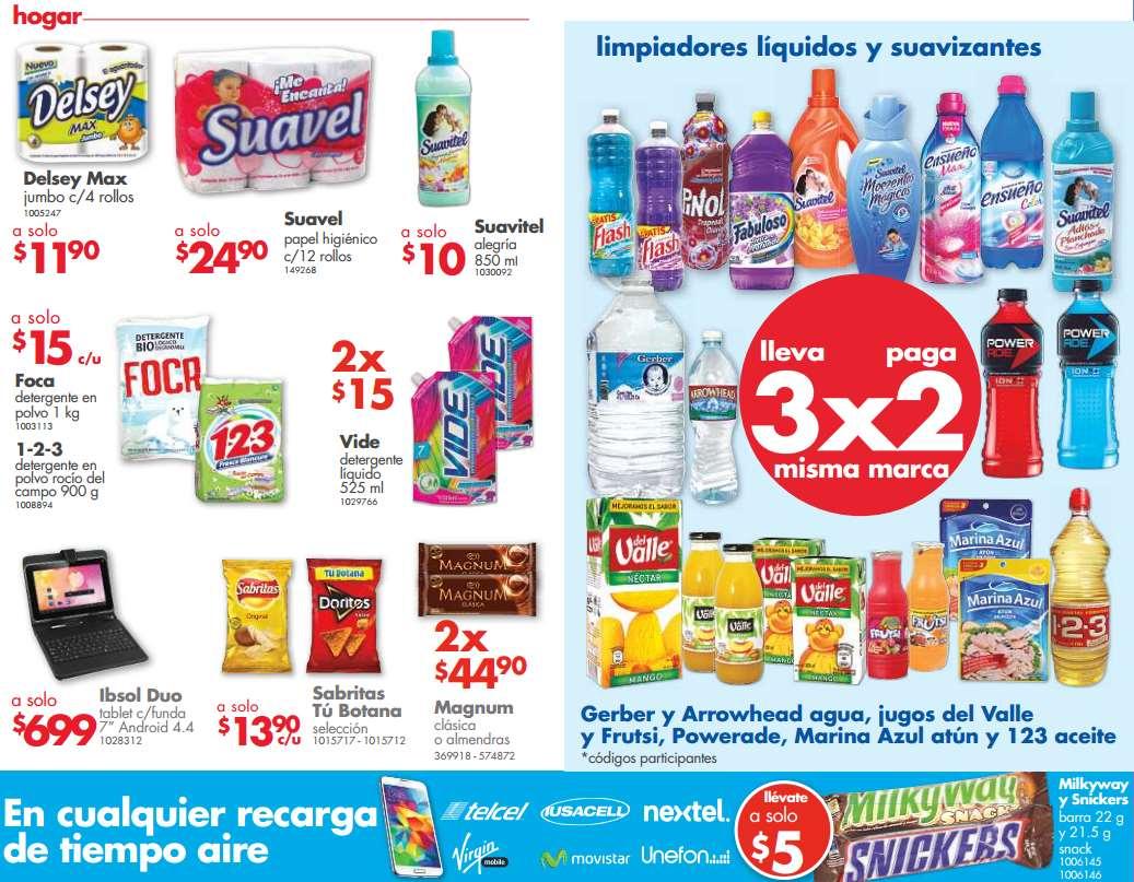 Farmacias Benavides: 3x2 en Frutsi, jugos Del Valle, limpiadores, pañales, Powerade y más