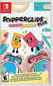 Amazon: Snipperclips - Nintendo Switch a $349