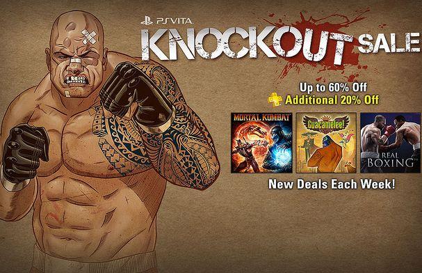 PlayStation Store: hasta 60% + 20% de descuento en juegos de pelea de PS Vita
