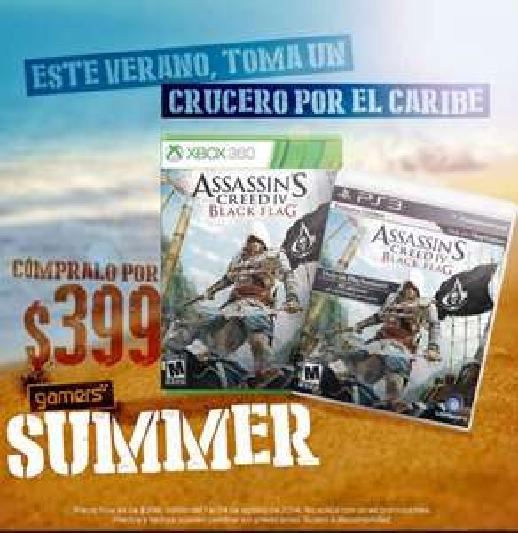 Gamers: Assassin's Creed IV Black Flag $399