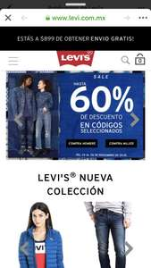 Black Friday 2018 Levi's: hasta 60% de descuento por Black Friday