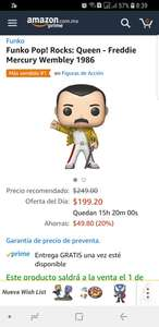 Amazon Black Friday: Funko Pop Freddie Mercury