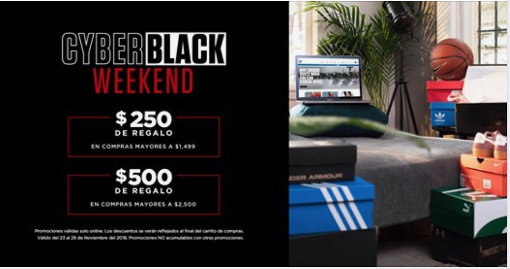 Black Friday 2018 Innvictus: descuentos de 250 en compra de $1,500 y $500 en compra de $2,000