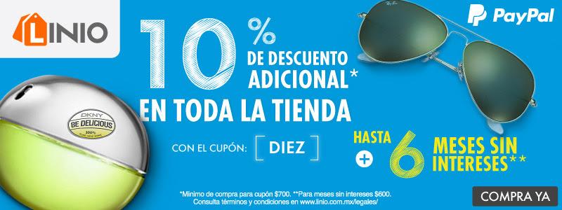 Linio: 10% de desc en toda la tienda 29 de Sep con Paypal + Recopilacion de Cupones Vigentes y proximos