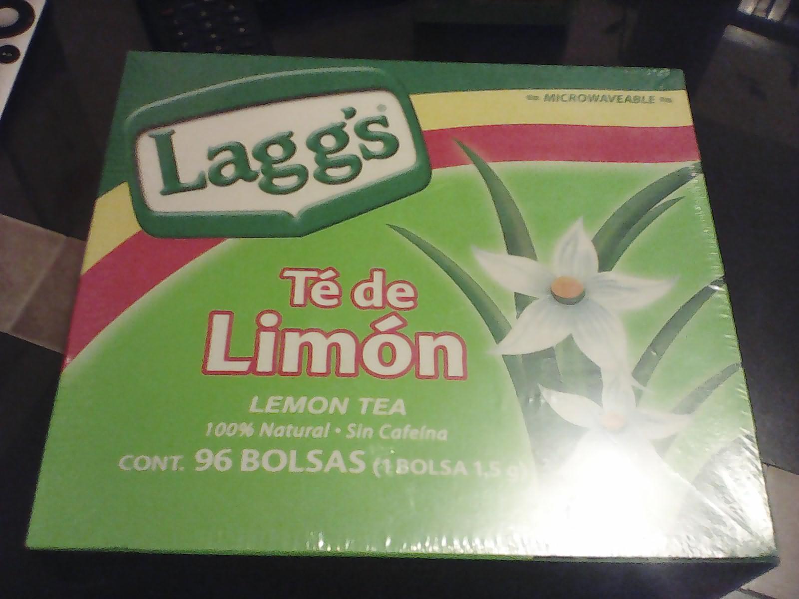Bodega Aurrerá: Te de limón 96 bolsas de $74 a sólo $7.04