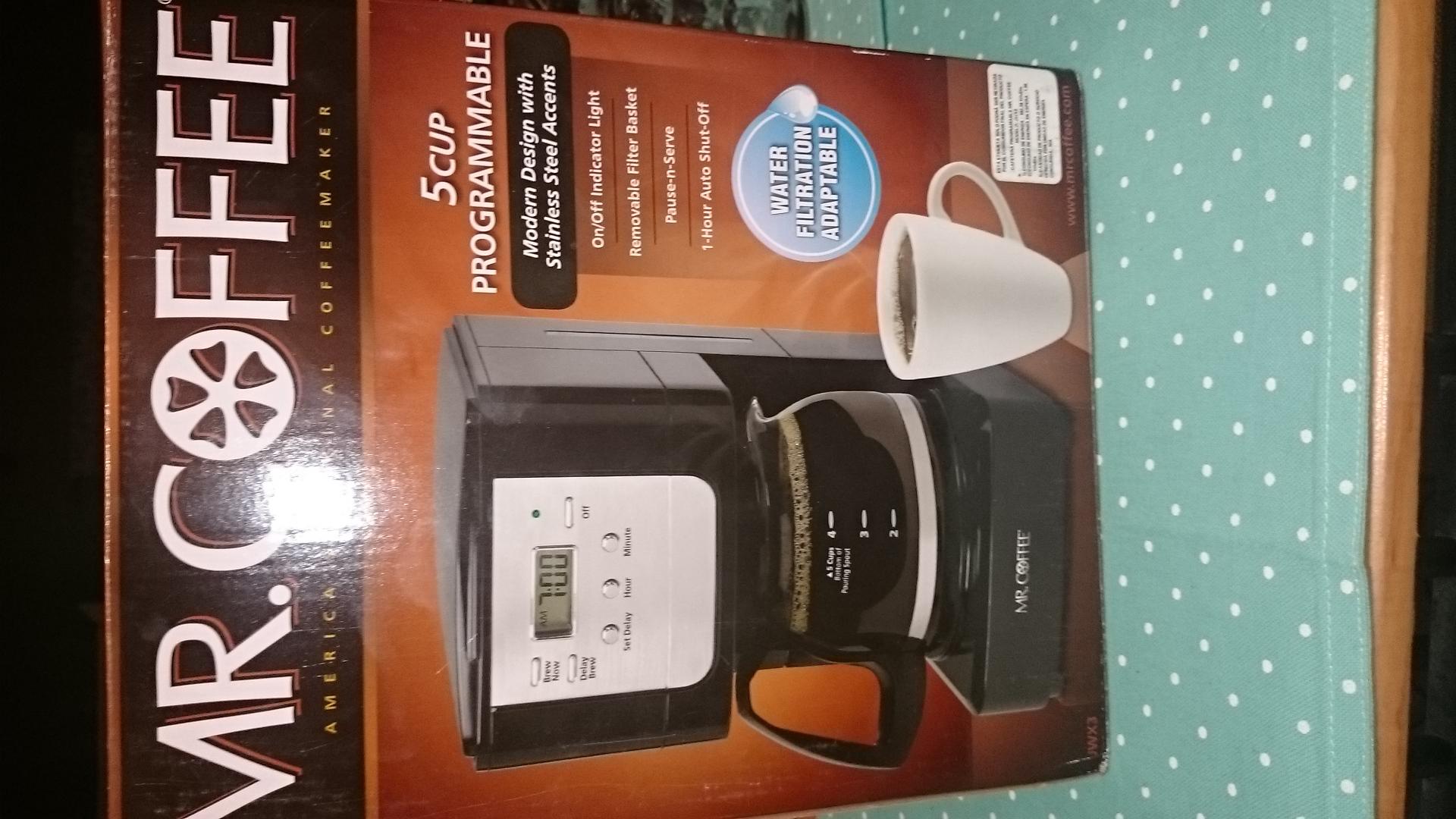 WALMART: cafetera MR COFFEE $100.03 y ¡más! en comentarios