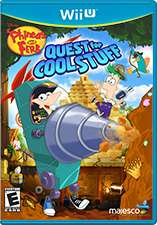 Nintendo eShop: Phineas and Ferb: Quest for Cool Stuff Wii U o 3DS $56