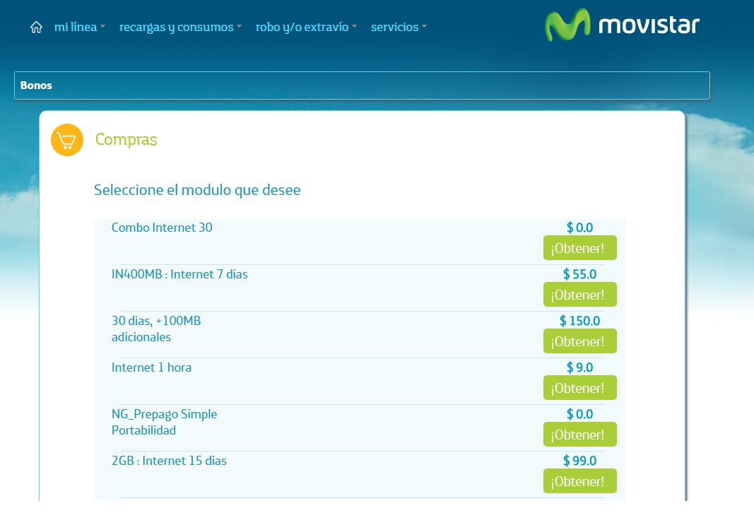 Internet gratis en Movistar las veces que quieran con Combo 30