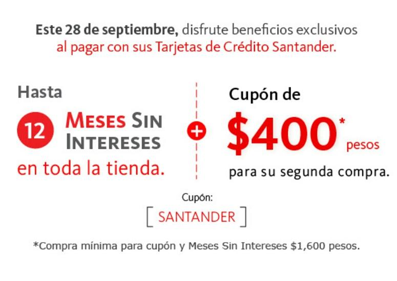 Linio: Cashback con Santander