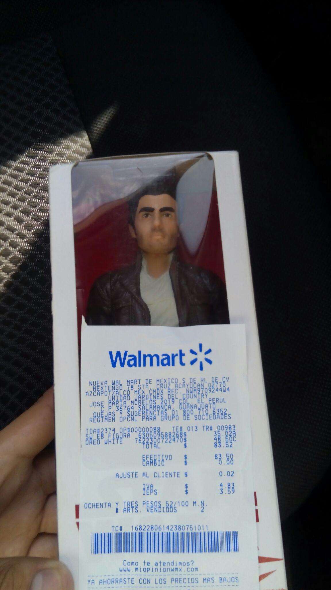 Walmart: Figura 12 pulgadas Star Wars