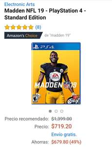 Amazon: Madden NFL 19 PS4