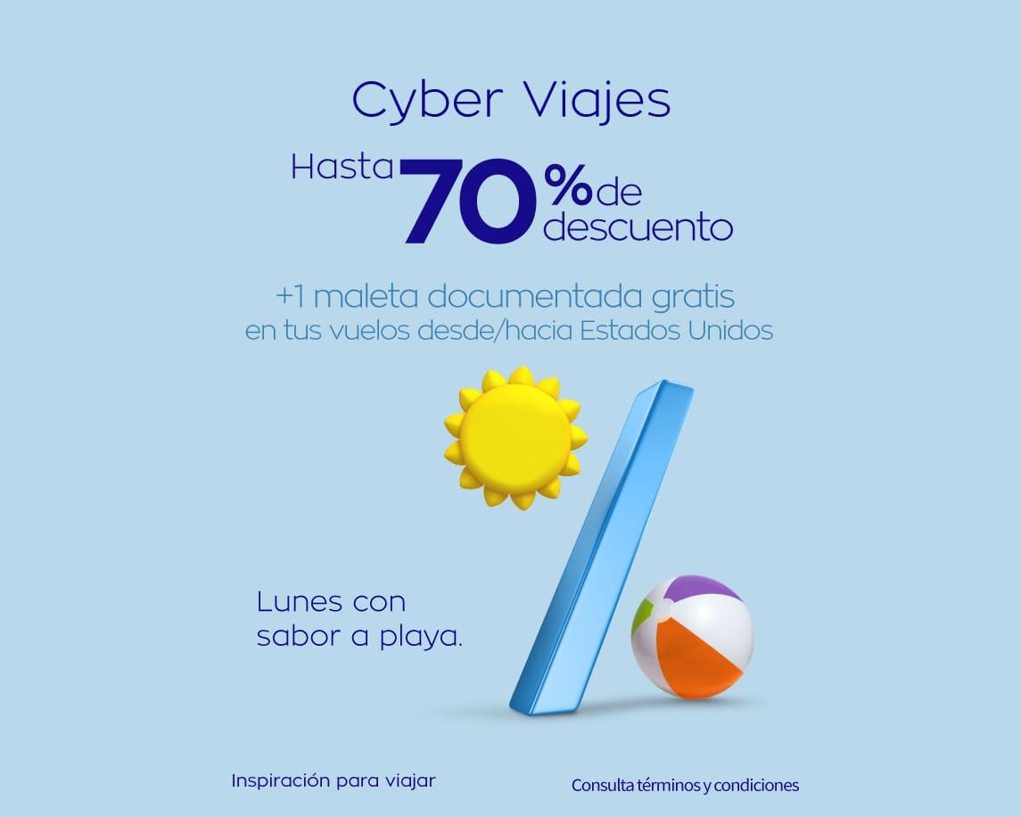 Cyber Monday en Interjet: Hasta 70 % de descuento y mensualidades sin intereses