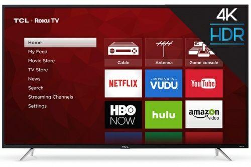 cyberpuerta TCL 4k 65 pulgadas Roku smart tv