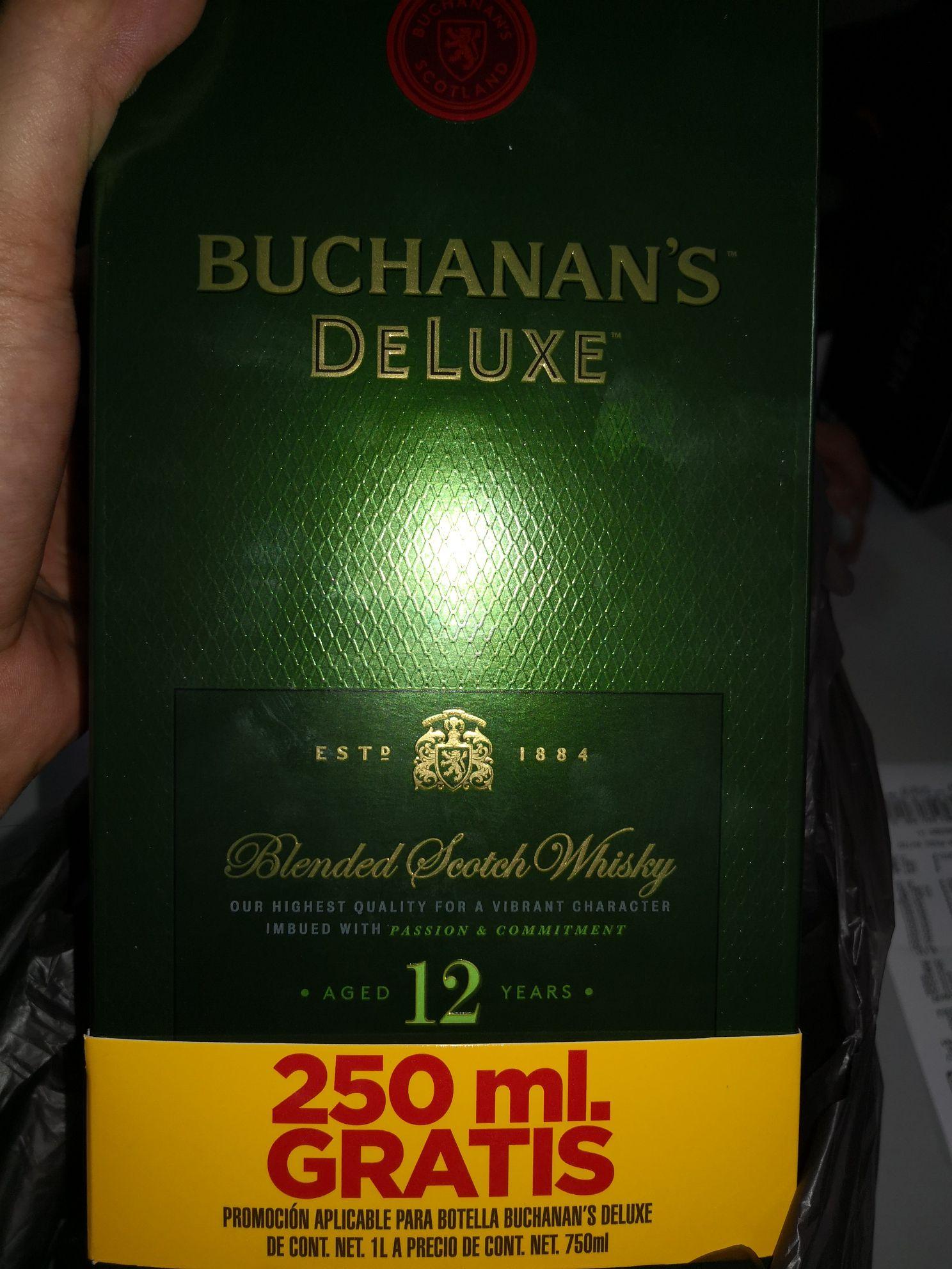 Bodega Aurrerá: Buchanan's 12